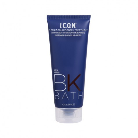 Icon BK Bath Tratamiento -Acondicionador Antiencrespamiento-Alisado Natural 200 ml