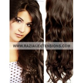 Extensiones CLIP ONDULADAS 2 MARRON CHOCOLATE